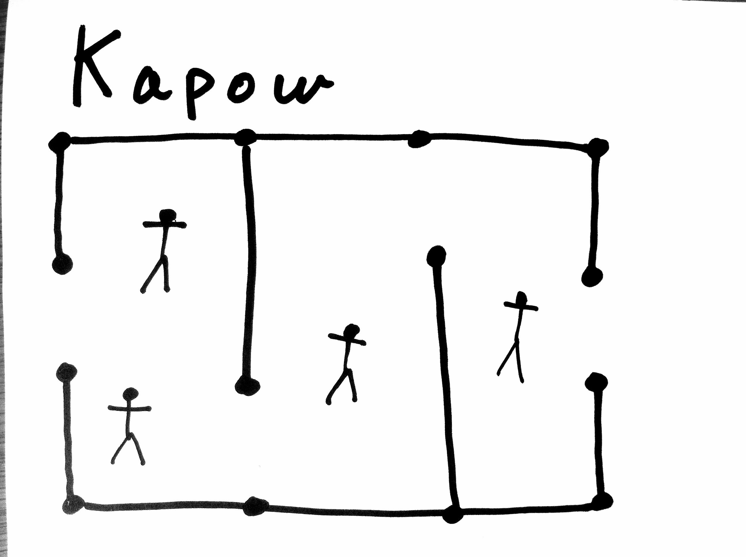 Kapow field drawing
