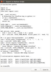 hda-python-script
